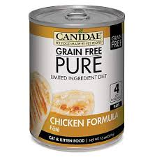 canidae grain free pure limited ingredient diet pate with chicken