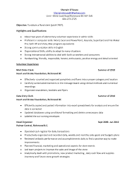 Data Entry Resume Sample by Data Entry Clerk Resume Free Resume Example And Writing Download