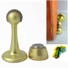 magnet door stopper holder safety catch guard w screws stop avoid