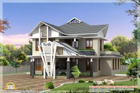 Kerala Home Design Plan And Elevation 2 Different 3d Home Elevations Kerala Home Design And Floor Plans