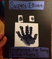 made this for community helper week for infants art police officer