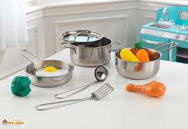 jouet cuisine pour enfant dinette en métal pour cuisine pour enfants x11 kidkraft