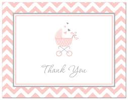 baby shower thank you cards baby shower mania
