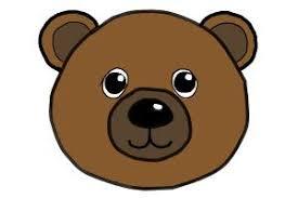 draw bear face drawingnow