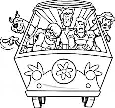 scooby doo coloring pages smiling scooby doo coloring pages