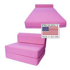 amazon com sleeper chair folding foam bed sized 6