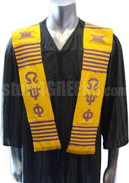 graduation stole omega psi phi kente graduation stole