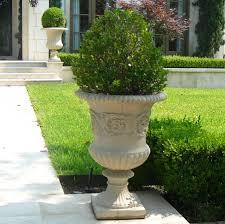 Stone Urn Planter by Classic Estate Urn Planters Fine Cast Stone Urns Jardinieres