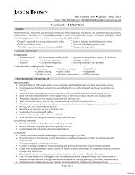 food service resume food service resume skills restaurant food service manager and