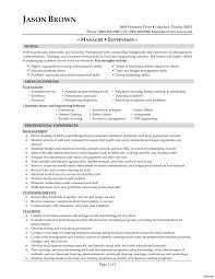 food service resume food service resume skills restaurant food service manager and