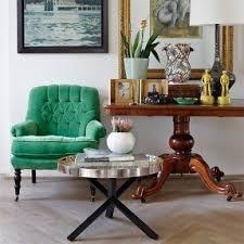 green modern chair foter