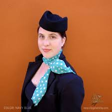 halloween flight attendant costume sur la tete stewardess wool pillbox hat pillbox hats