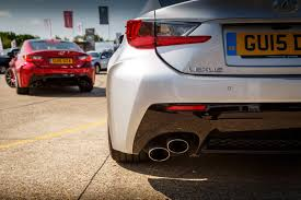 lexus rc exhaust system driven lexus rc f carbon review