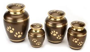 earn for ashes pet urn for ashes rochford brown paw prints
