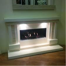 Travertine Fireplace Hearth - limestone and travertine fireplace u0026 fire