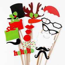 christmas photo booth props diy mask photo booth props mustache on a stick wedding christmas