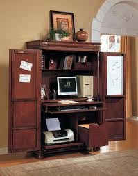 Wood Computer Armoire Armoire Solid Wood Computer Armoire Style Workstation