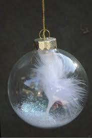 feather ornament sympathy by handmadebysandyo on etsy 7 95