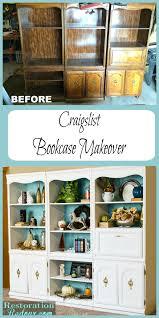 furniture home impressive craigslist bookcase photos design ivory