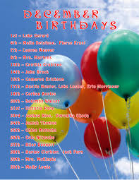 birthday quotes for the month of december 5 mr