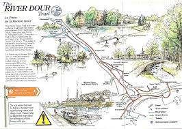 Canterbury England Map by Dour River U2013 Part I An Historical Overview The Dover Historian