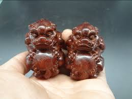lobular rosewood carved wooden ornaments business gifts