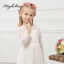 vintage communion dresses online shop new vintage lace flower girl dresses sleeves