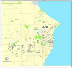 illustrator usa map outline 2 wind point wisconsin us exact vector city plan map v3 09