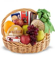 fruit and cheese baskets cheese and fruit basket