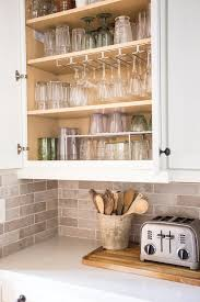 where to put glasses in kitchen without cabinets how to organize your glassware cabinet once and for all