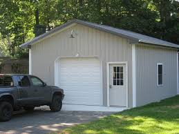 1 car pole garage customer projects apm pole building
