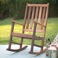 Patio Rocking Chairs Wood Rocking Patio Chair Beastgames Club
