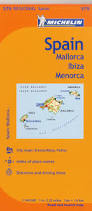 Menorca Spain Map by Michelin Spain Balearic Islands Map 579 Mallorca Ibiza