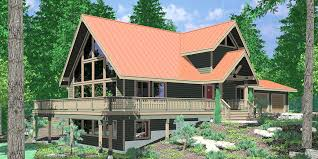 basement homes hillside home plans with basement sloping lot homes floor small