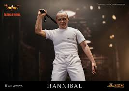 blitzway 1 6th scale action figure hannibal lecter white prison