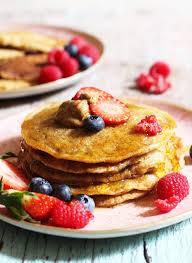 pancakes cuisine az fluffy oat pancakes the green spoon