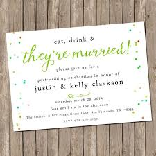 wedding reception only invitations wordings post wedding reception only invitation wording plus