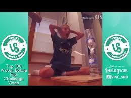 Water Challenge Vine Top 100 Water Bottle Flip Challenge Vines 2016 Part 2
