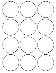 1 Inch Circle Template by Flour Confections