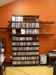 bookshelf room divider free standing bookshelves danish modern teak freestanding room