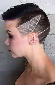 Kurze Frisuren Damen 2017 by Frauen Undercut Frisuren Mit Haar Tattoos Für 2017 Smart Frisuren