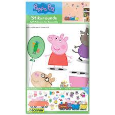 fun4walls peppa pig wall stickers stikarounds sa10506 sample peppa pig wall stickers stikarounds sa10506 sample