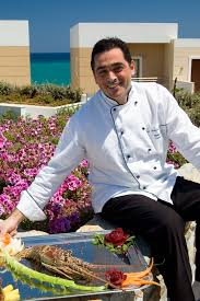 chef of cuisine george pelekos the chef of sensimar royal blue resort spa