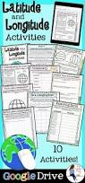 Longitude Map Best 25 Latitude Longitude Ideas On Pinterest Map Activities