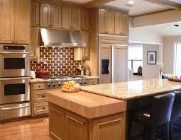 kitchen with butcher block island maple butcher block countertop kitchen in dallas