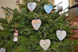 getting crafty with diy map ornaments splendry