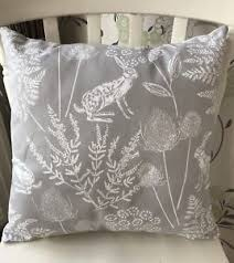 dunelm kielder rabbit hare dove grey 16