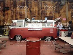 vw truck food truck in london in a vw bus stock photo istock