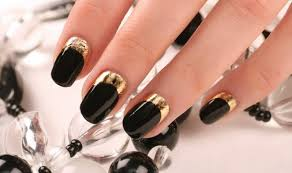 trendy diy projects for lovers of gold and black