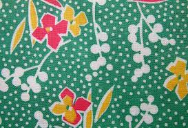 vintage fabric gallery 1930s greens q is for quilter